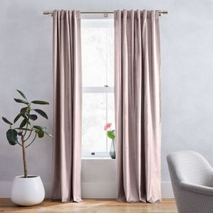 West elm dusty blush curtains..i h